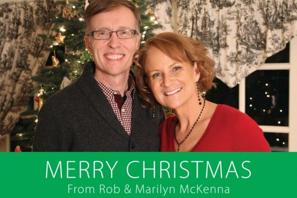Merry Christmas from Rob & Marilyn