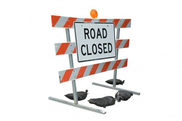 Roadblock Ahead