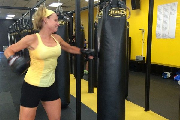Try-It Tuesday: Kickboxing!