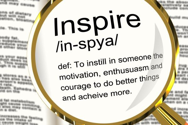 I is for Inspiration