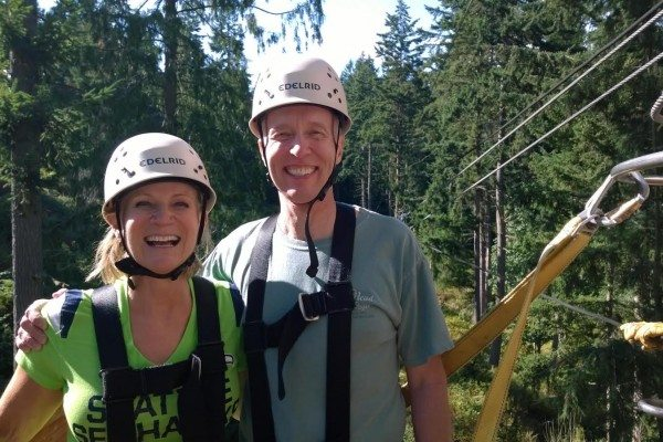Find your adventurous spirit zip-lining!