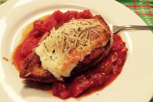 Skinny Chicken Parmigiana