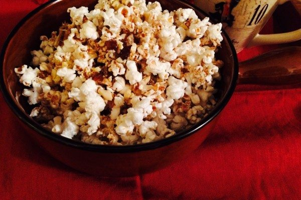 "Eat Clean ""Caramel Corn"""