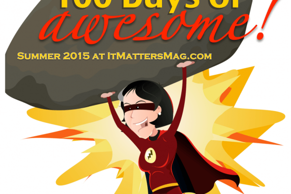 100 days of awesome!