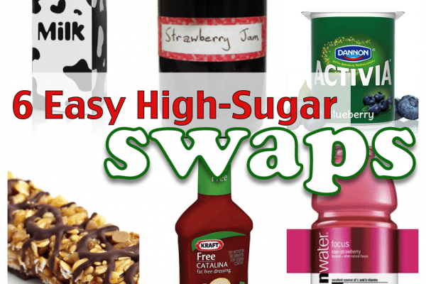 6 easy high-sugar swaps