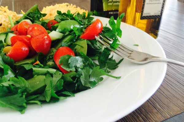 Recipe: 50 Shades of Greens Salad