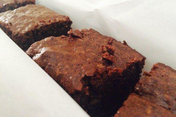 Recipe: Chocolate (avocado + almond) Brownies