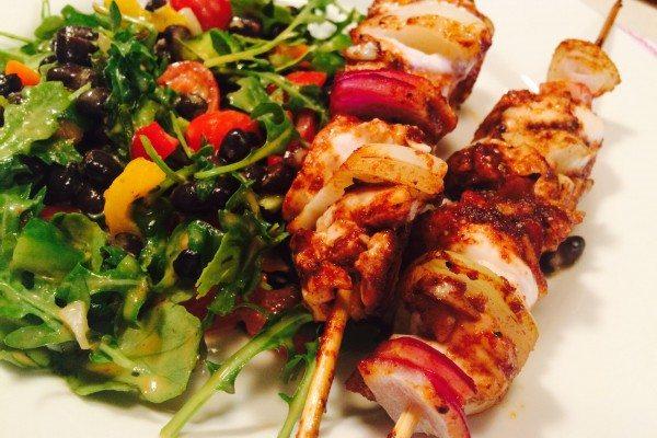 Recipe: Chili Chicken Kabobs