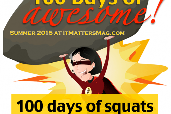 100 days of squats!