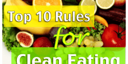 10 rules for clean eating