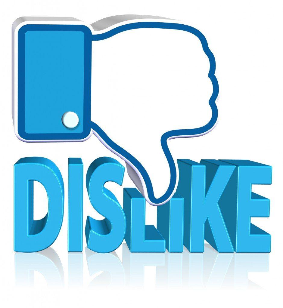 Dislike Sign