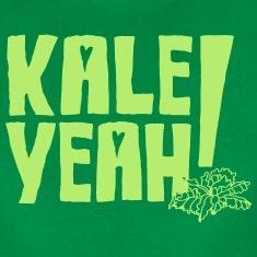 Kale-Yeah!-Women-s-T-Shirts